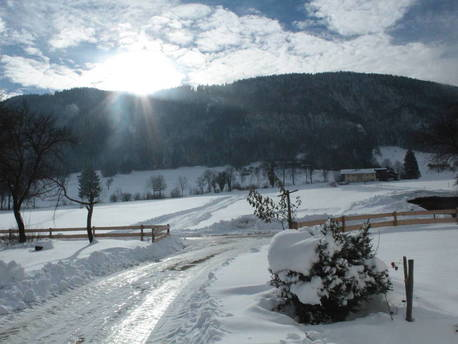 Der Winter im Chiemgau